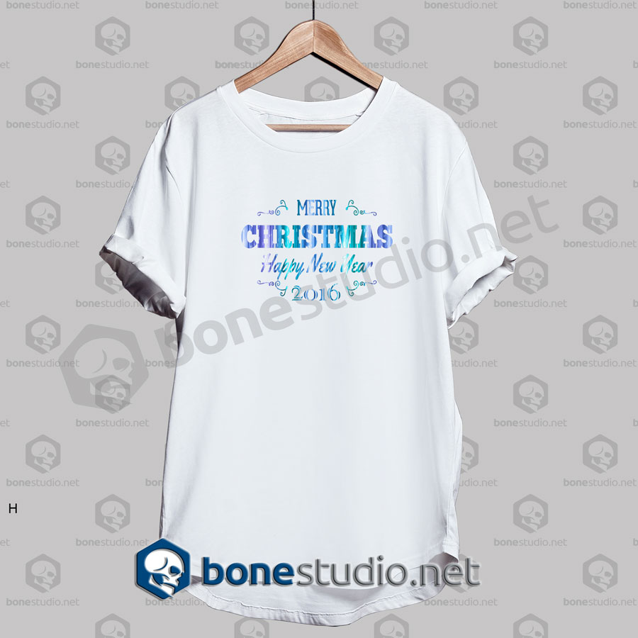 Merry Christmas And Happy Quote T Shirt