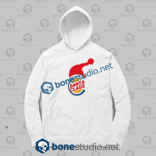 Merry Christmas Burger King Funny Hoodies