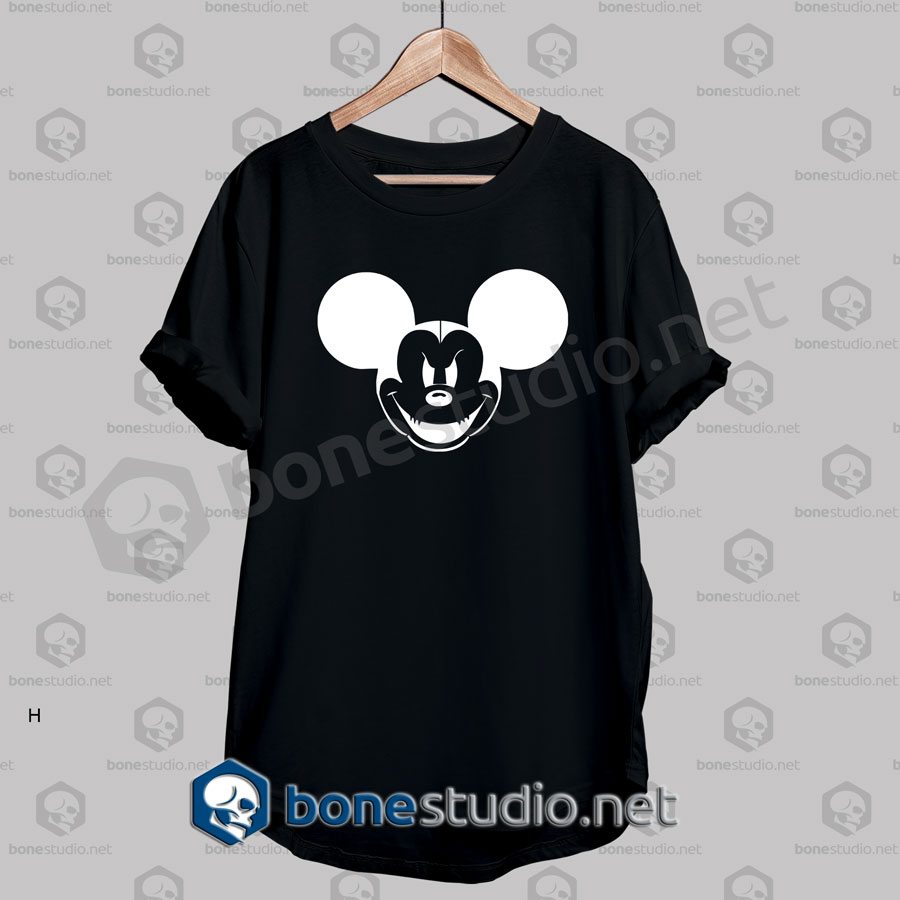 Mickey Spooky Night Horror Funny T Shirt