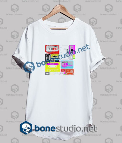 Mix Tape Remix Graphic T Shirt