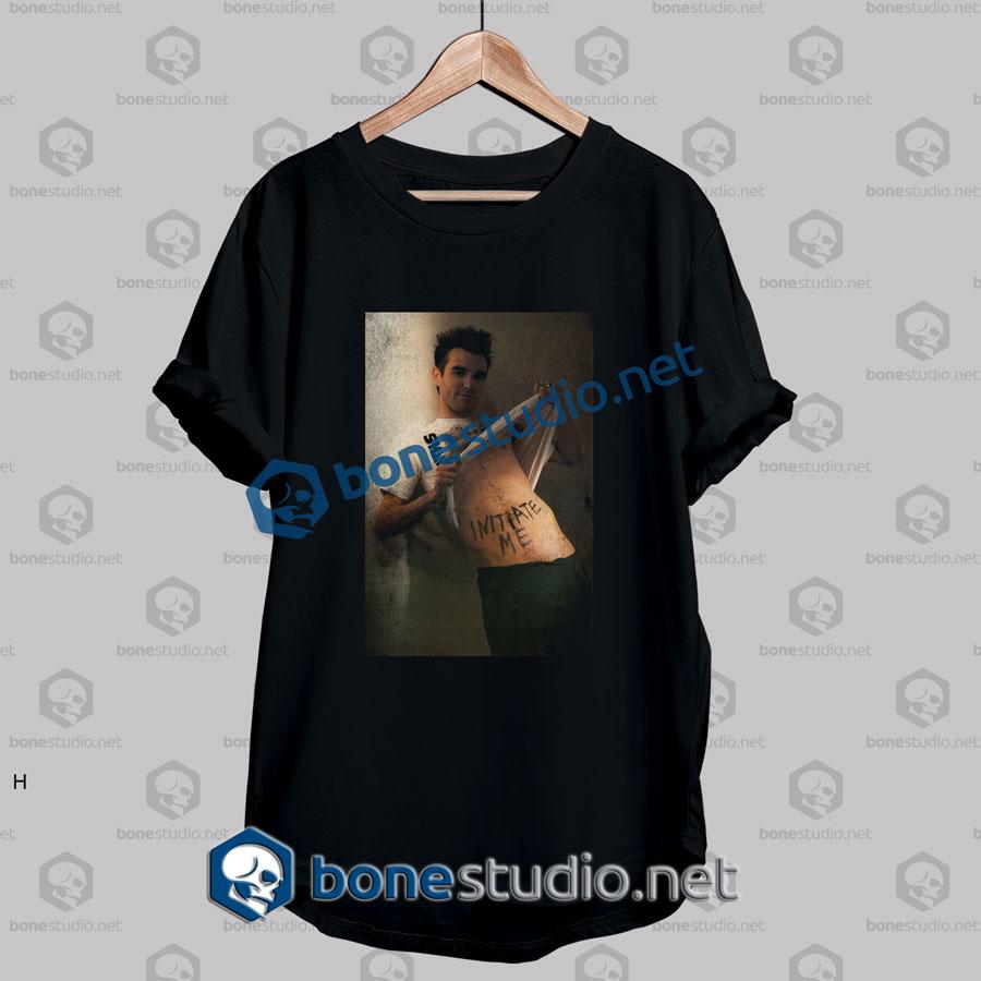 Morrissey Initiate Me Band T Shirt