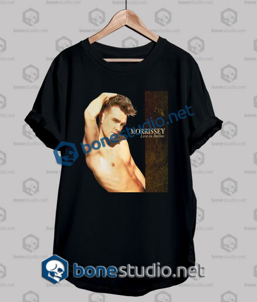 Morrissey Live In Dallas Band T Shirt