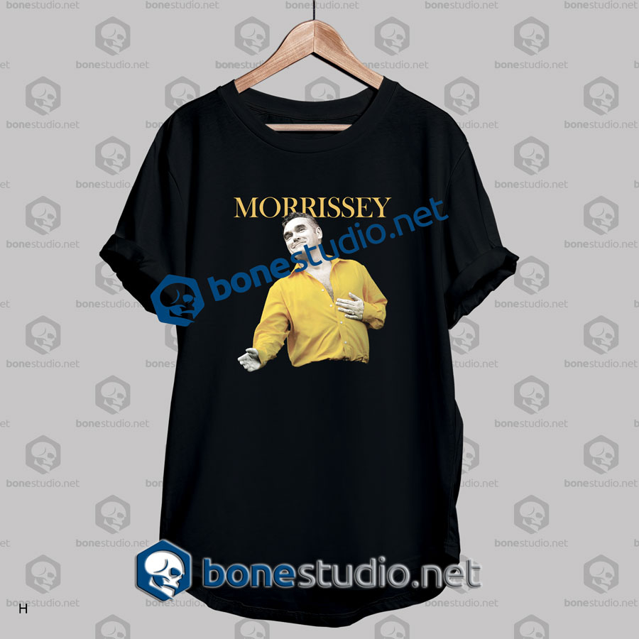 Morrissey Madison Square Garden Band T Shirt