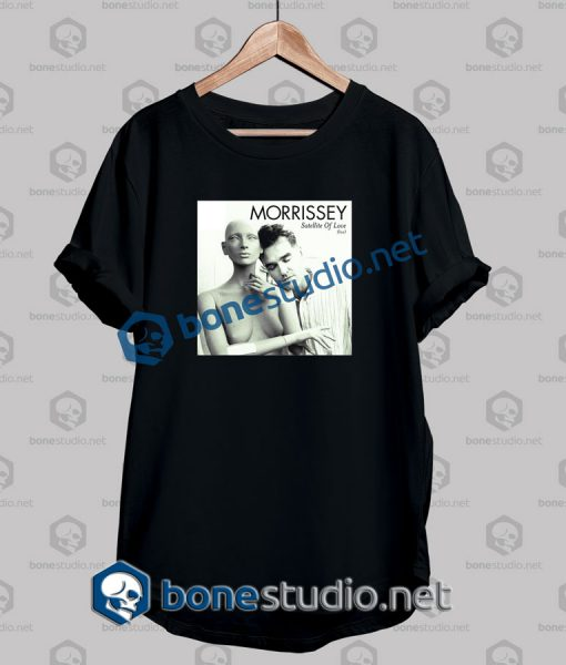 Morrissey Satelite Of Love Band T Shirt