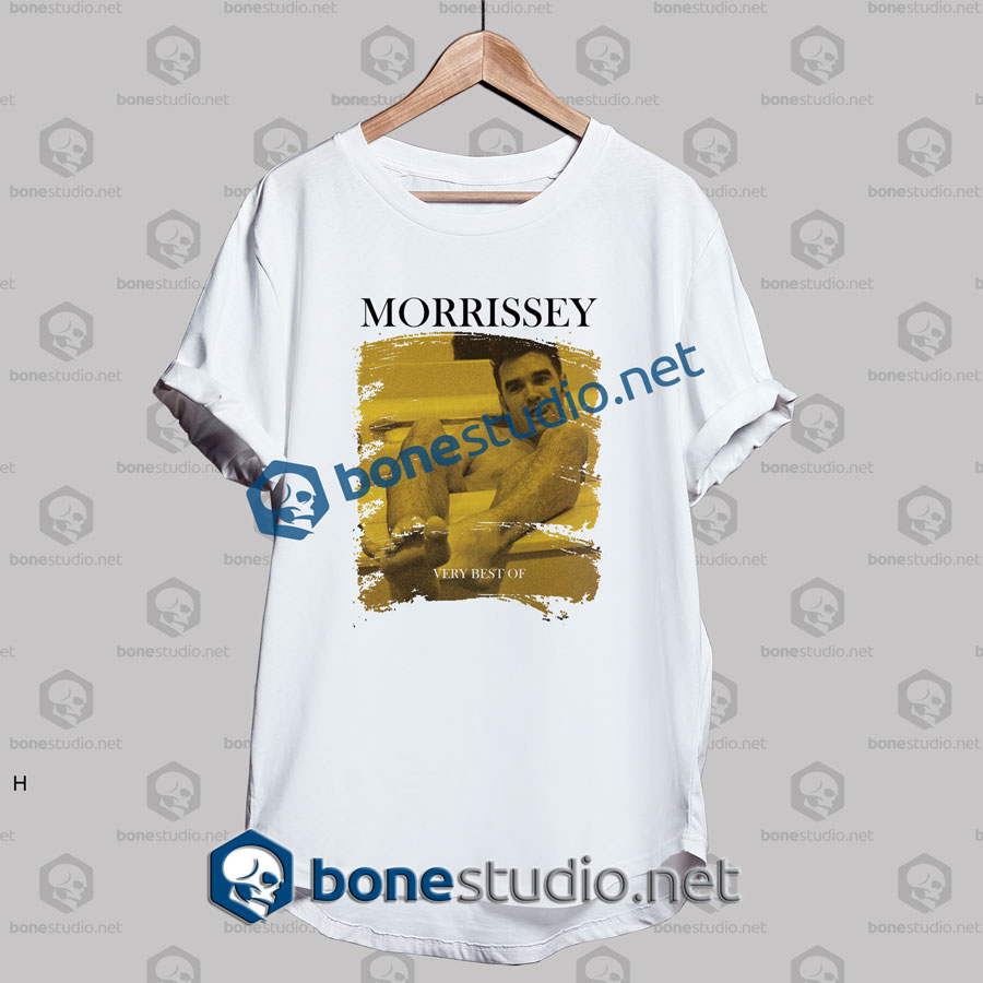 Morrissey Very Best Of Band T Shirt