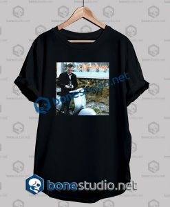 Morrissey Vespa Smash Bush Band T Shirt