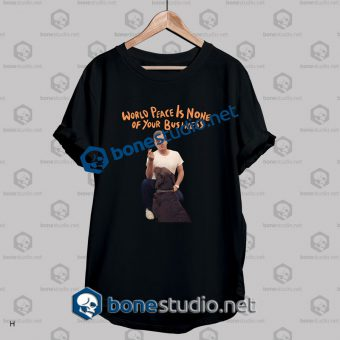 Morrissey World Peace Of Your Business Band T Shirt