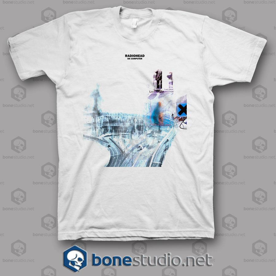 f2dc9ae7 Radiohead Ok Computer Band T Shirt - Adult Unisex Size S-3XL