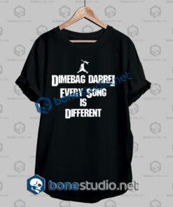 Pantera Dimebag Darrel Every Song Quote Band T Shirt