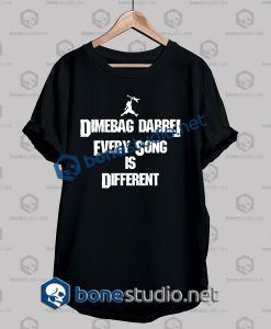 Pantera Dimebag Darrel Every Song Quote Band T Shirt