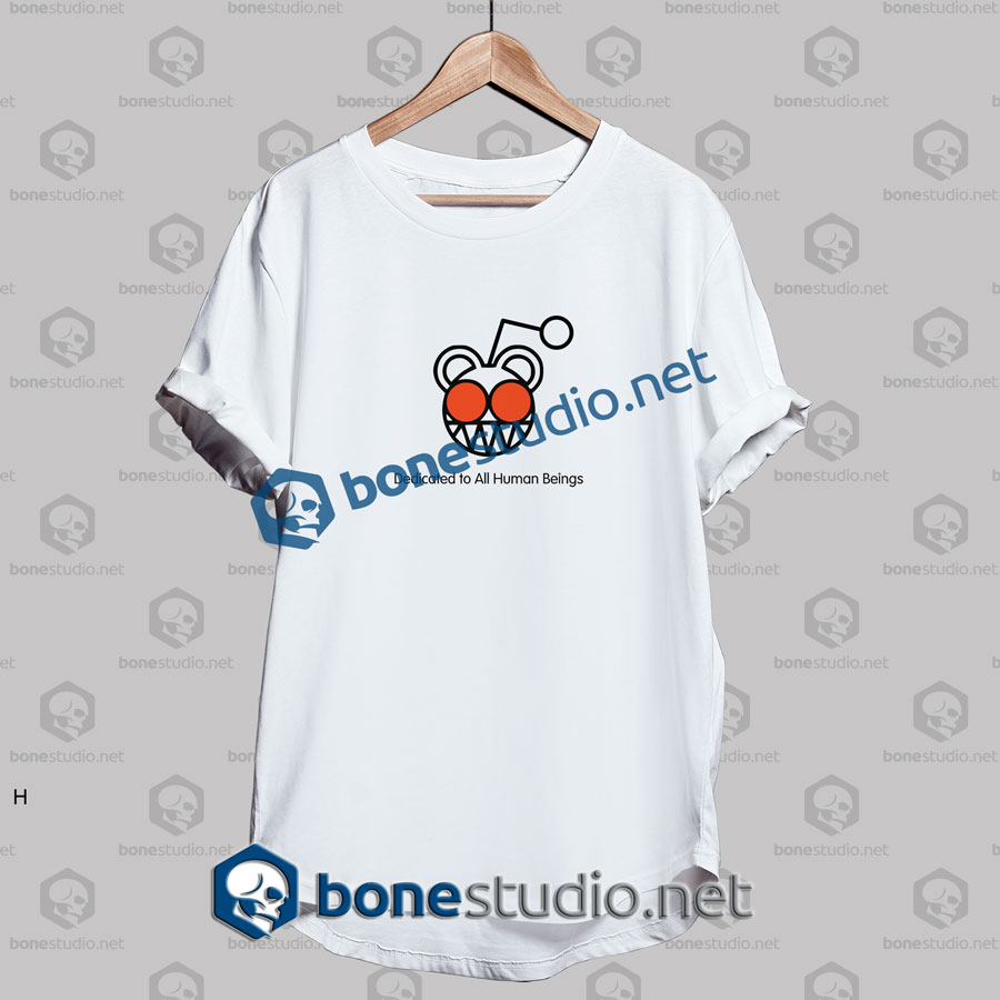 Radiohead Dedicated To All Human Beings Band T Shirt
