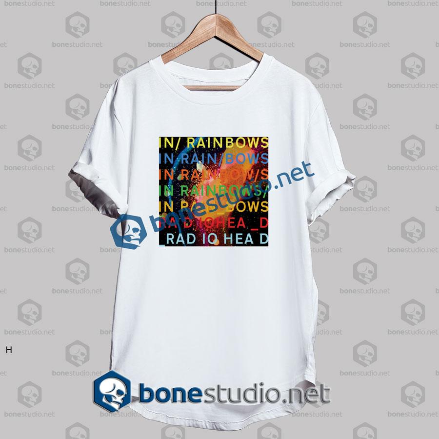 Radiohead In Rainbow Band T Shirt
