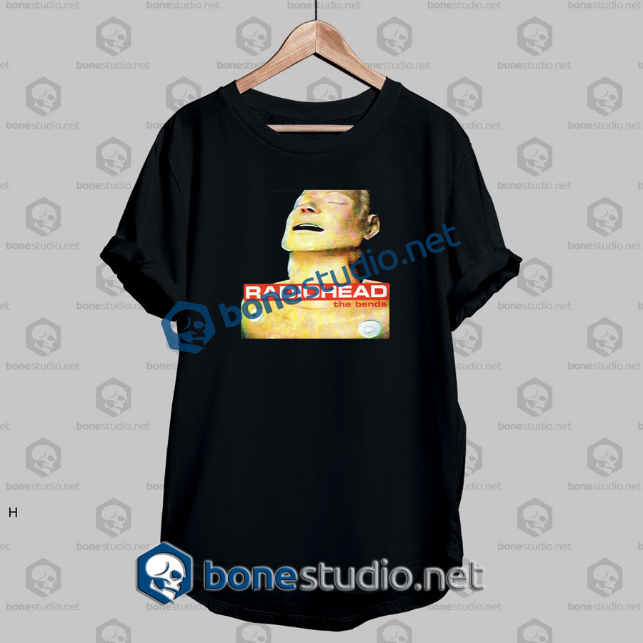 Radiohead The Bends Band T Shirt