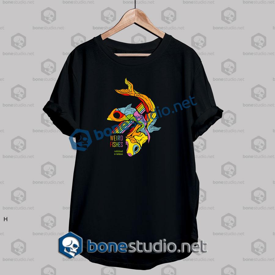 Radiohead Weird Fishes Band T Shirt