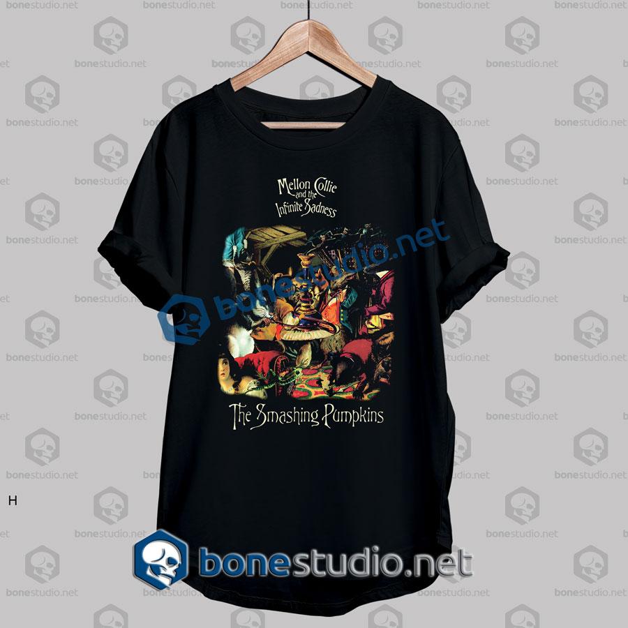 Smashing Pumpkins Mellon Collie Band T Shirt