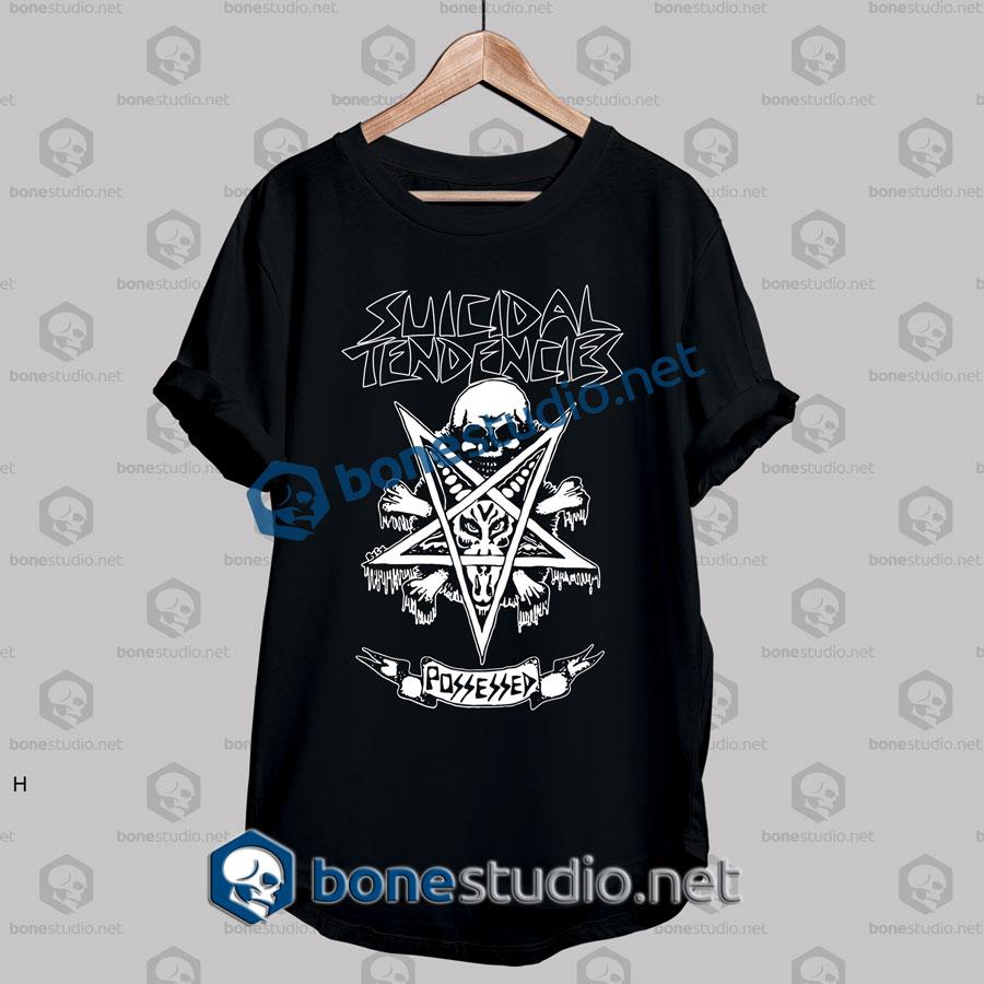 Suicidal Tendencies Possessed Band T shirt