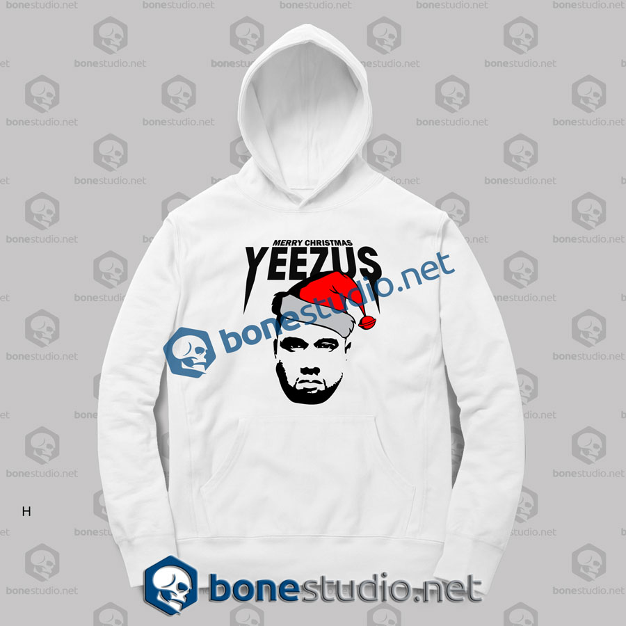 Yeezus Merry Christmas Hoodies