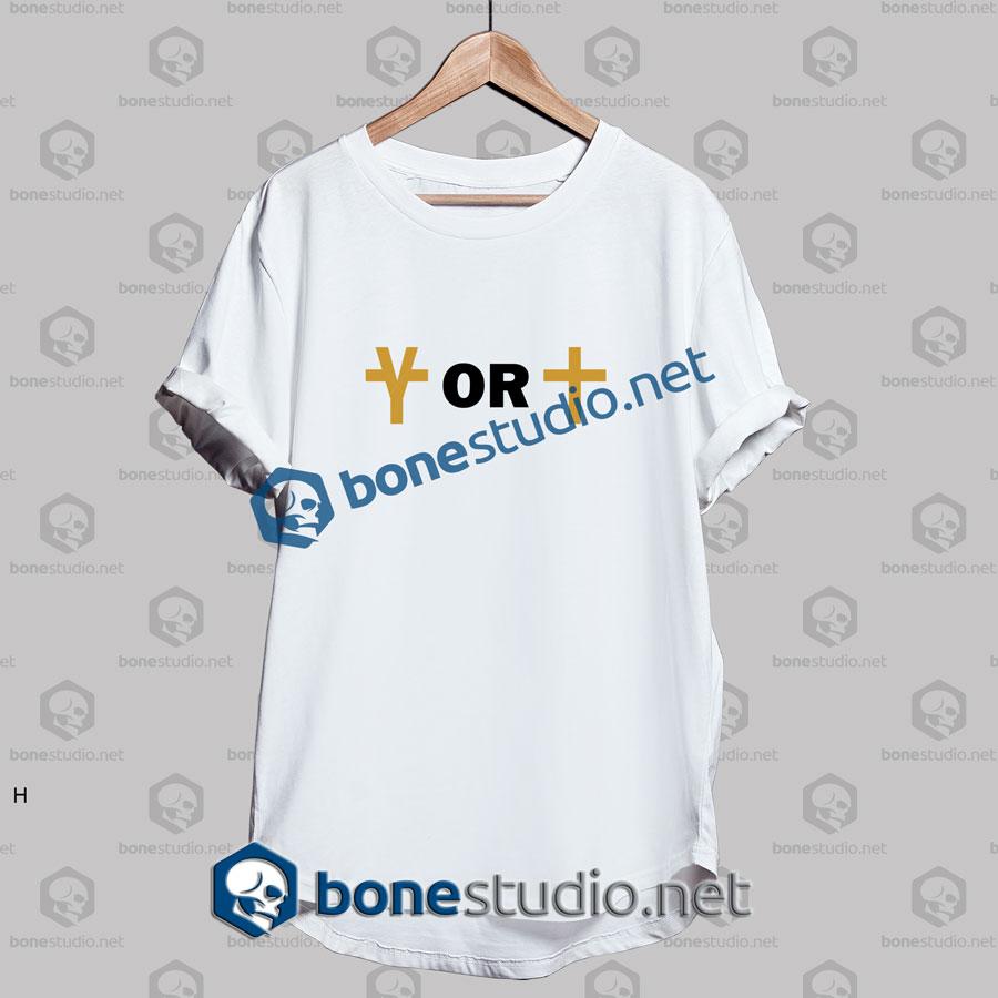 Yeezus Or Jesus Logo Funny T Shirt