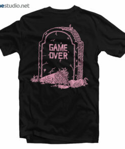 The Snake Hole Game Over T Shirt