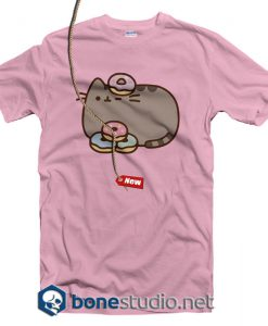 Pusheen The Cat Donuts Juniors T Shirt