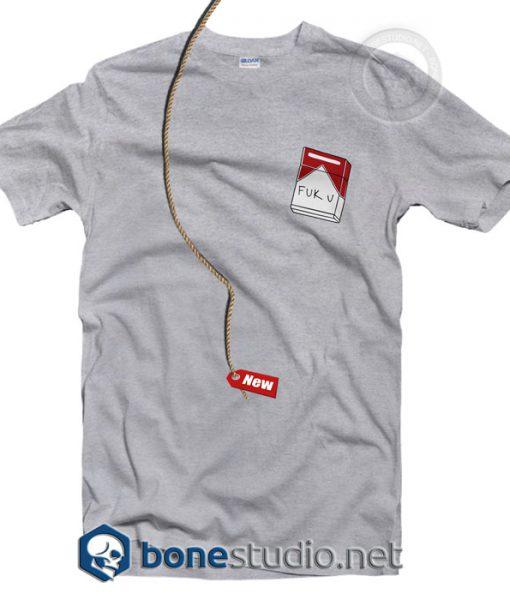 Fuck You Marlboro Funny T Shirt