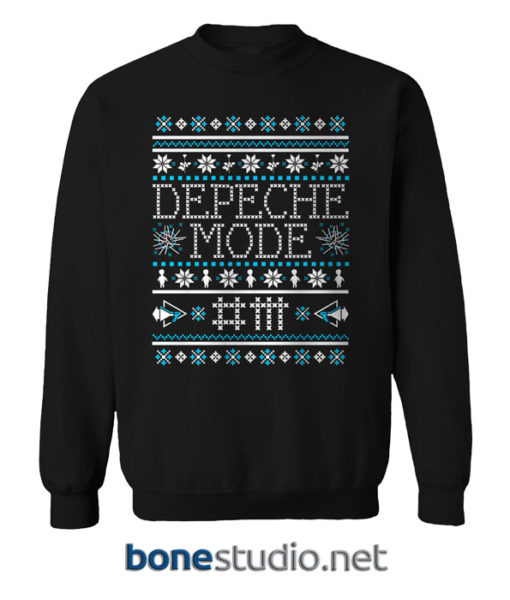 Depeche Mode Band Ugly Sweater Christmas Sweatshirt