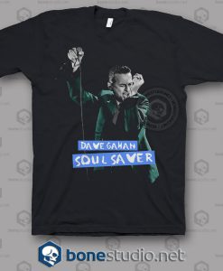 Depeche Mode Dave Gahan Soul Savers T Shirt