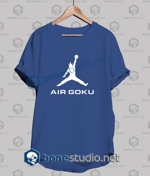 dragon ball z air goku funny t shirt