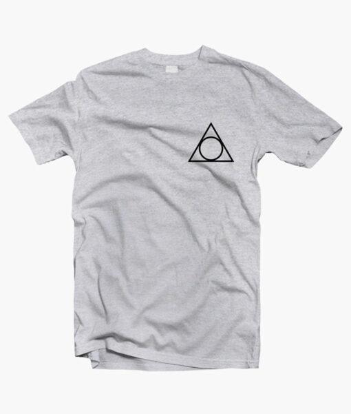 Harry Potter Deathly Hallows Pocket T Shirt