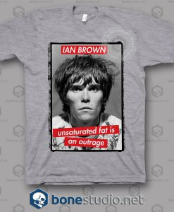 Ian Brown Unsaturated Quote T Shirt