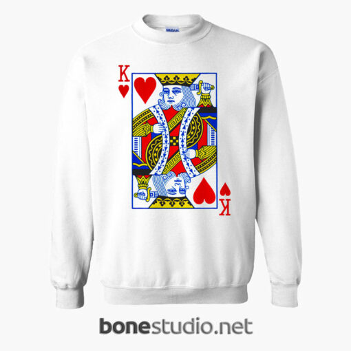 King Card Sweatshirt
