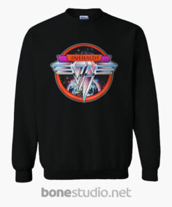 Van Halen Band Sweatshirt Space Logo