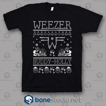 Weezer Band Ugly Sweater T Shirt