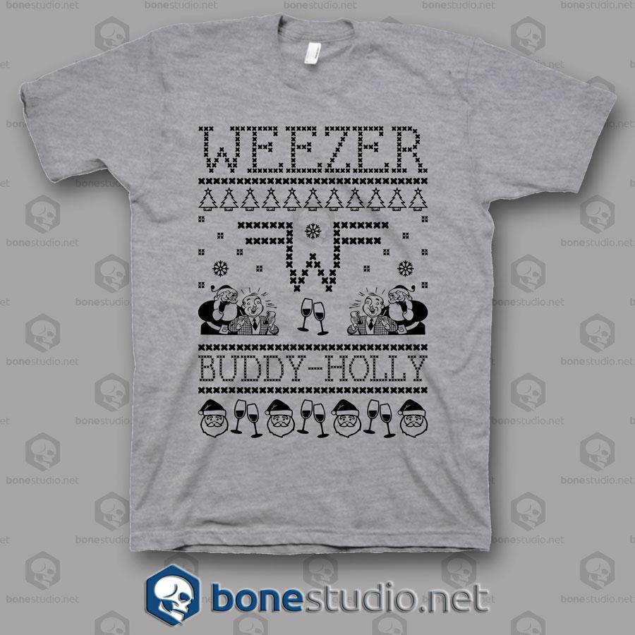 Weezer Christmas Sweater.Weezer Band Ugly Sweater T Shirt Adult Unisex Size S 3xl
