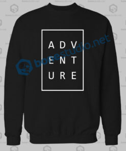 Adventure Typography Sweatshirt