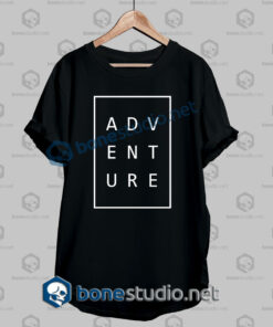 Adventure Typography T Shirt