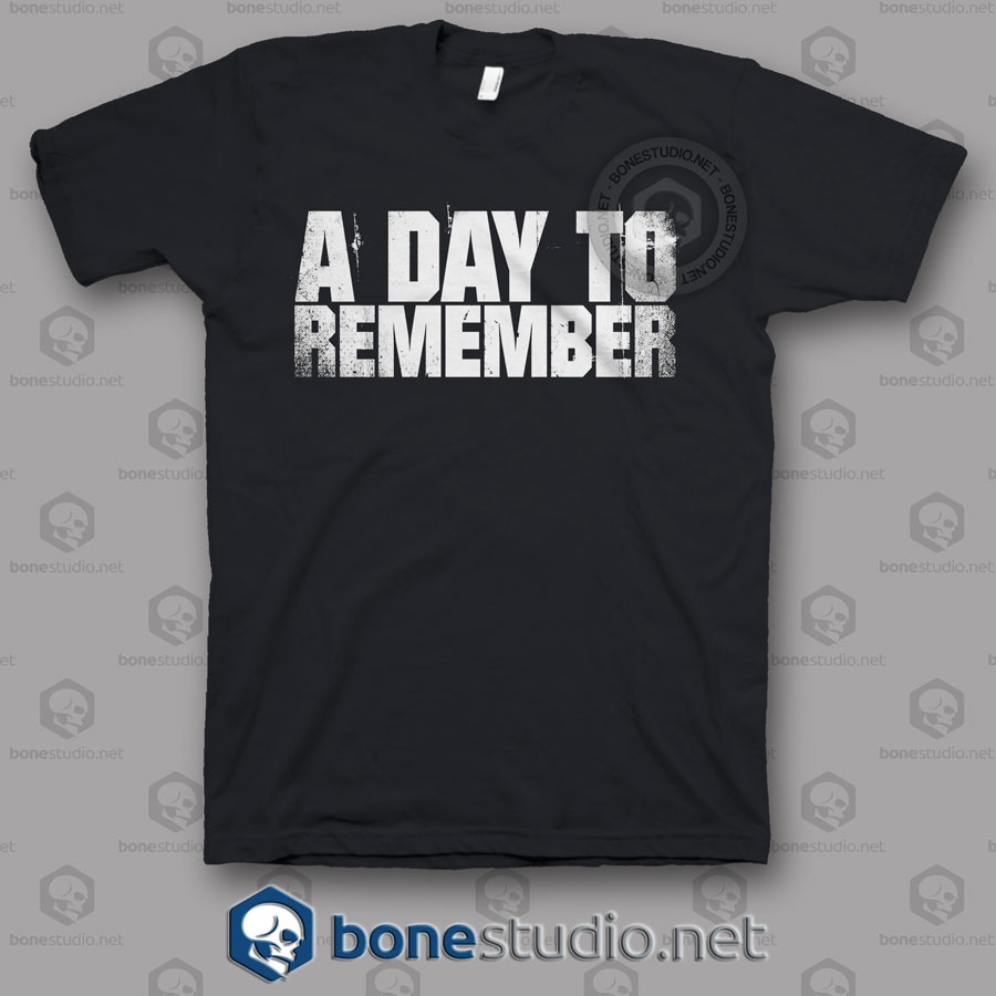 A Day To Remember Band T Shirt