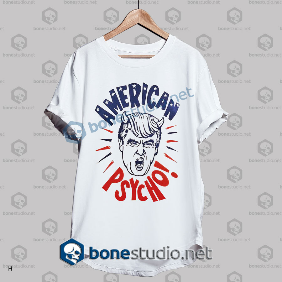 American Trump Psycho Funny T Shirt