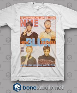 Blur Nme Band T Shirt