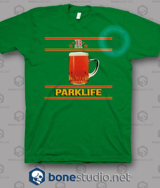 Blur Parklife B Logo Band T Shirt