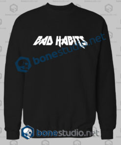Bad Habits Logo Sweatshirt