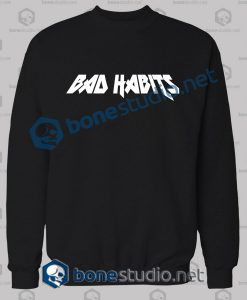 Bad Habits Logo Sweatshirt