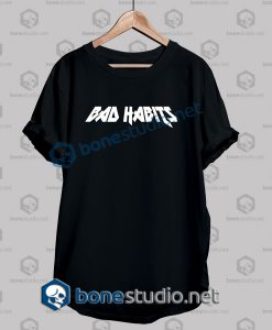 Bad Habits Logo T Shirt