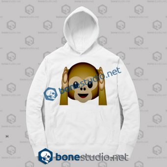 Best 3d Monkeys Emoji Funny Hoodies
