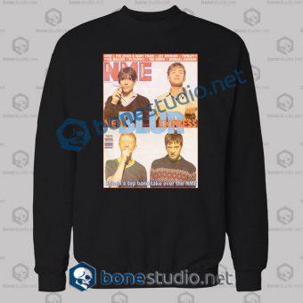Blur Nme Band Sweatshirt