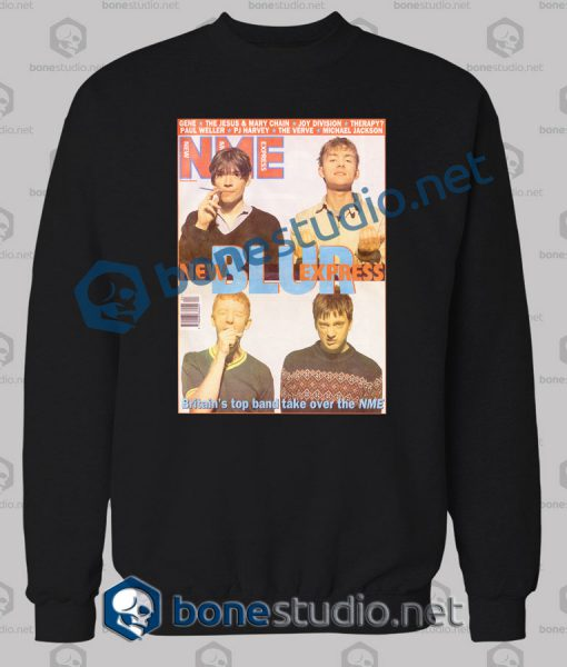 Blur Nme Band Sweatshirt