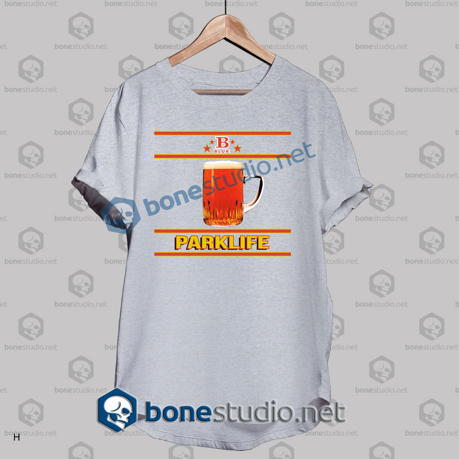 Blur Parklife B Logo Band T Shirt