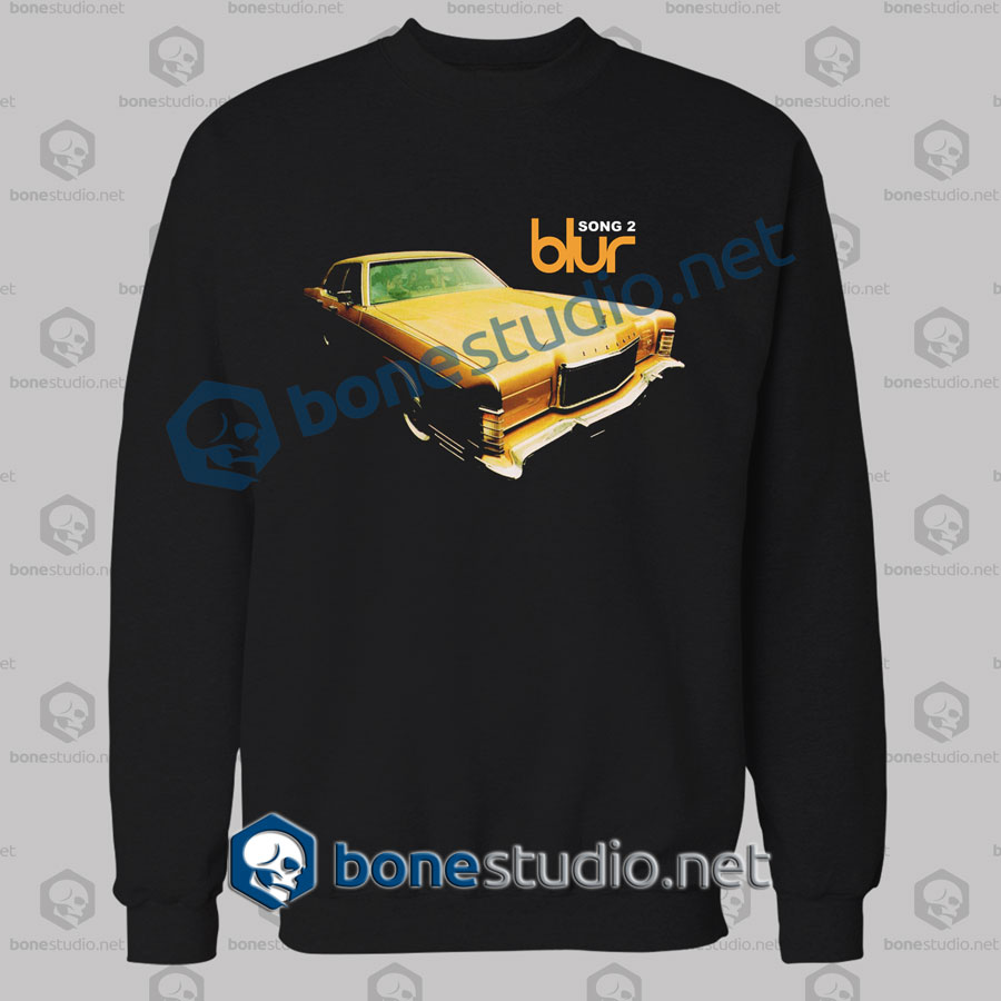 Blur Song 2 Band Sweatshirt