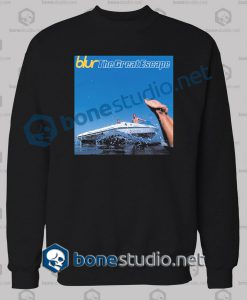 Blur The Great Escape Band Sweatshirt