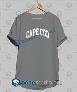 cape cod t shirt grey